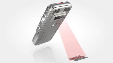 Diktiergerät DPM 8500 mit Barcodescanner