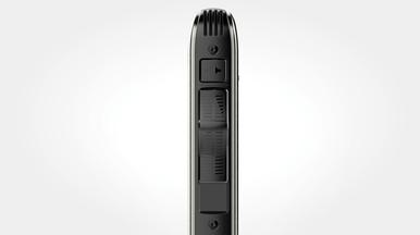 Verschleißfreier ergonomischer Schiebeschalter zur effizienten einhändigen Bedienung