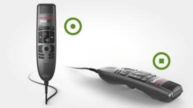 Integrierter Bewegungssensor, der das Mikrofon bei Nichtgebrauch stummschaltet