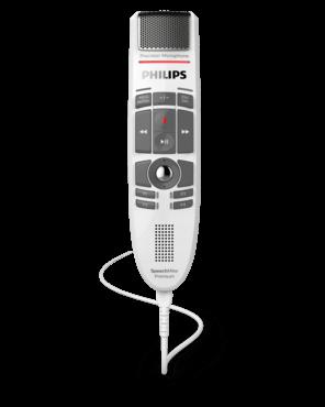 """SpeechMike Premium LFH3530 """"White Edition"""" mit Drucktasten"""