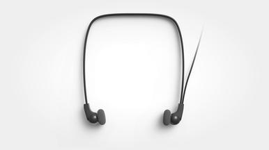 Leichte Stereokopfhörer für hohen Tragekomfort