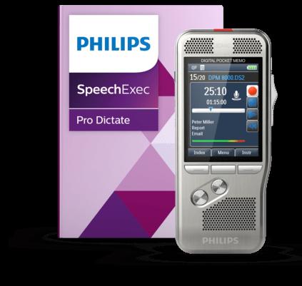Diktiergerät DPM8000 Spracherkennungsset