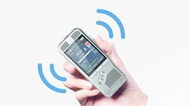 Integrierter Bewegungssensor für die automatische Mikrofonauswahl