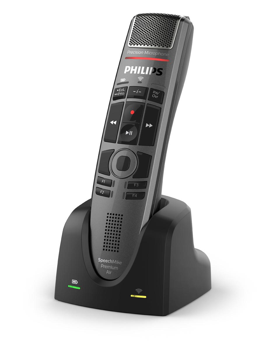 Diktiermikrofon von Philips SpeechMike Premium Air SMP4000 Drucktaste