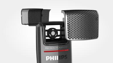 Integrierter Pop-Filter für perfekte Tonqualität