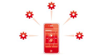 Das Versenden von Dateien über den SpeechExec Mobile Server sorgt für mehr Flexibilität
