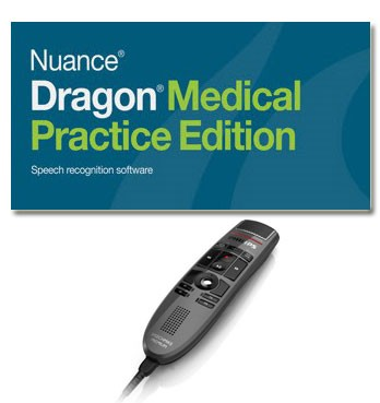 Dragon Medical Practice Edition 4.1 & SpeechMike Premium LFH3500