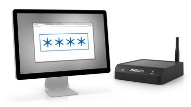 Passwortschutz für einen sicheren Konfigurationszugang