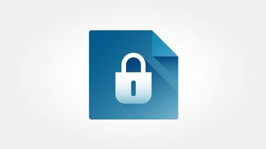 Dateiverschlüsselung und Gerätesperre mit PIN für hohe Datensicherheit