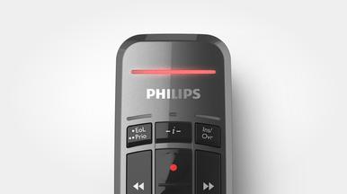Aufnahme-LED zur übersichtlichen und einfachen Überwachung des Aufnahmestatus