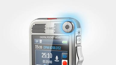 3D-Mikrofon für erstklassige Audioqualität und genaue Spracherkennungsergebnisse